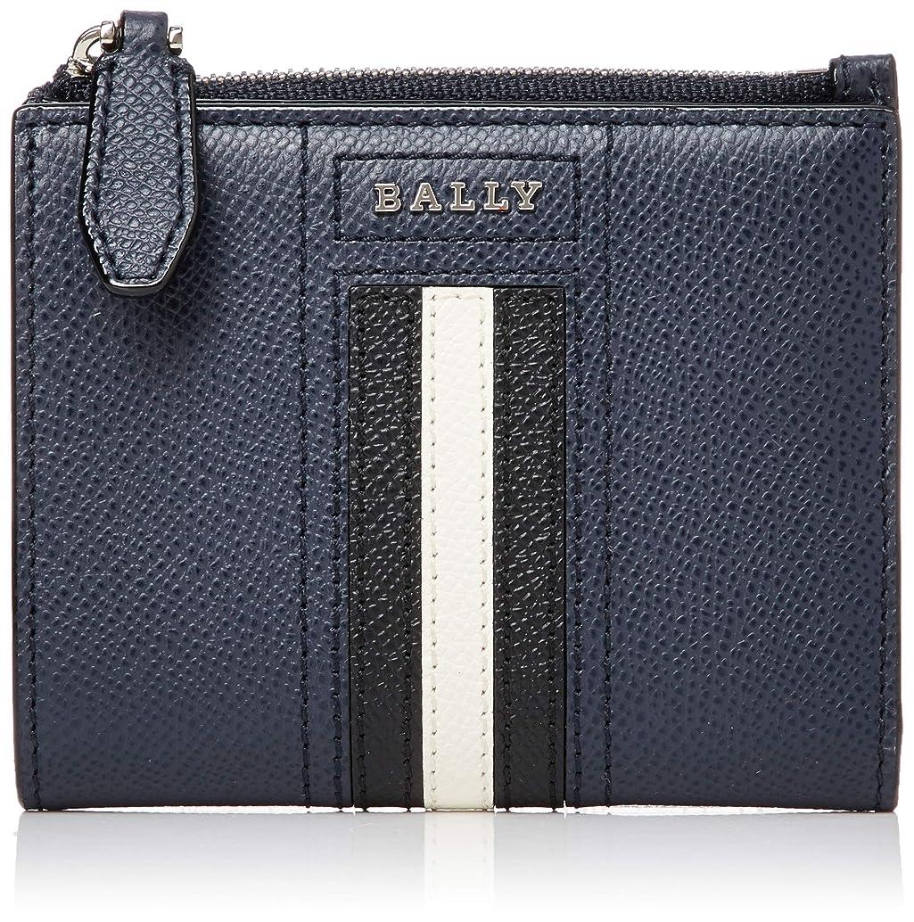 行進ミシン不毛[Bally(バリー)] BALLY(バリー) 二つ折り財布 LETTERING TSP [並行輸入品]