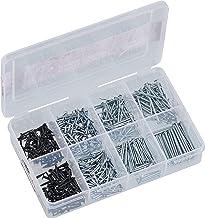 Connex Nagelassortiment 750-delig - spijkers & kammen in een set - voorgesorteerd in praktische kunststof doos - geschikt ...