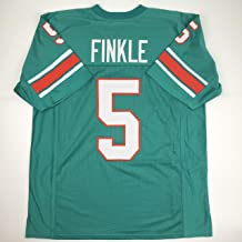 Unsigned Ray Finkle Miami Green Custom Stitched Football Jersey Size Men's XL New No Brands/Logos