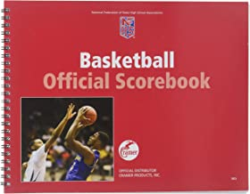 Cramer NFSHSA Scorebook, Official High School Scorebook for the NFSHSA, Spiral Bound Scorebook, Features a Full Season of Games or Matches, All Sports Contain Season Log for Compiling Statistics