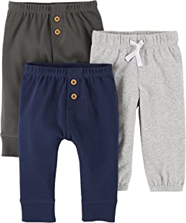 Carter's Baby Boys' 3 Pack Long Pants
