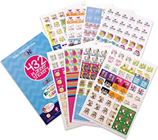 Planner Stickers Variety Set (Qty 432) Value Pack for Holidays, Birthdays, Home