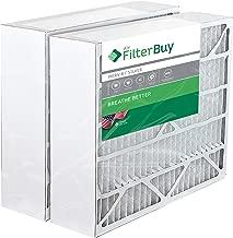 2 - 20x25x6 Space Gard 201 Alternative Pleated AC Furnace Air Filters. Fits Model 2200. AFB Silver MERV 8.