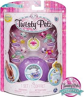 Twisty Petz - Babies 4-Pack Pandas and Kitties Collectible Bracelet Set for Kids