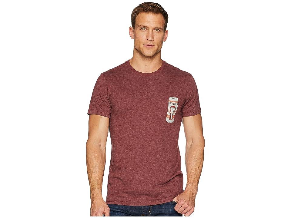 Mountain Hardwear Fourteenertm Short Sleeve Pocket Tee (Heather Smith Rock) Men