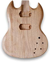 Unfinished Body For SG Guitar Okoume Wood Body