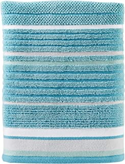 SKL Home by Saturday Knight Ltd. Seabrook Stripe Bath Towel, Teal
