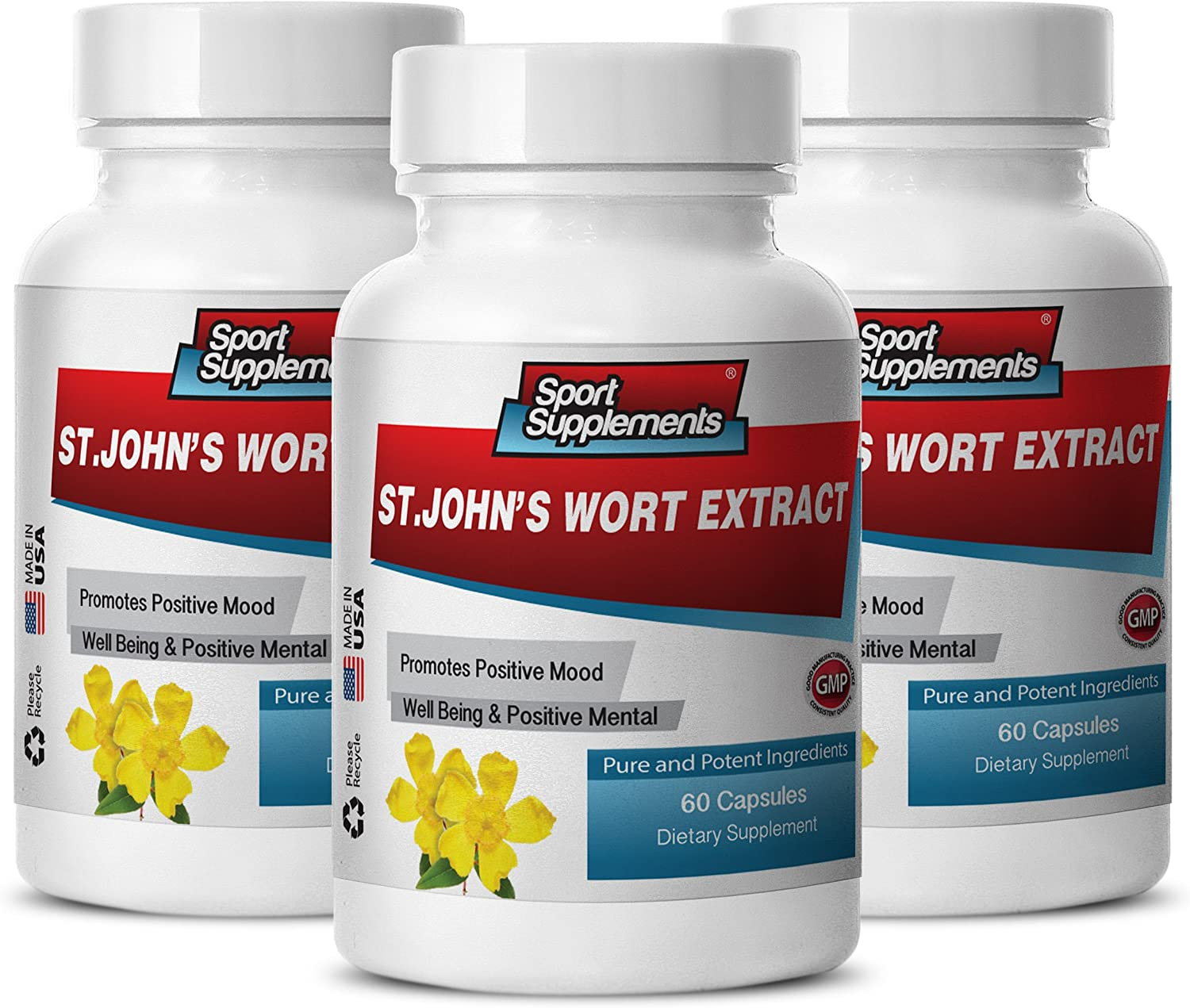 Energy Boost Ranking TOP20 for Men 2021new shipping free - ST. Extract Wort Support John's Immune