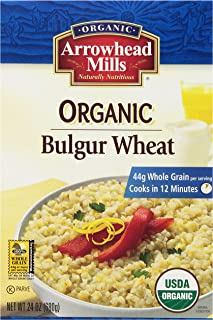Arrowhead Mills Organic Bulgur Wheat, 24 oz. (Pack of 12)