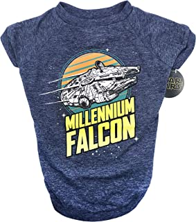 Star Wars Millennium Falcon Dog Tee | Star Wars Dog Shirt for All Size Dogs