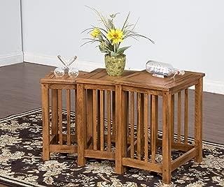 Sunny Designs Sedona 3-Piece Nesting Table