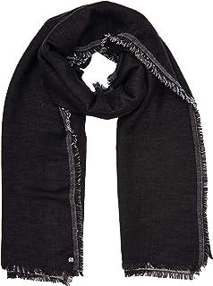 Folewr-8 Malaysia Tassel Kopftuch Damen Baumwolle Leinen Streifen Einfarbig Langer Schal Ges/äumt Hijab Kopfwickel