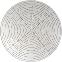 Taytools 114601 10 Inch Round Center Finder Compass for Wood Turners Lathe Work