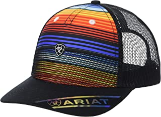 ARIAT Women's Bright Stripes Logo Snapback Cap