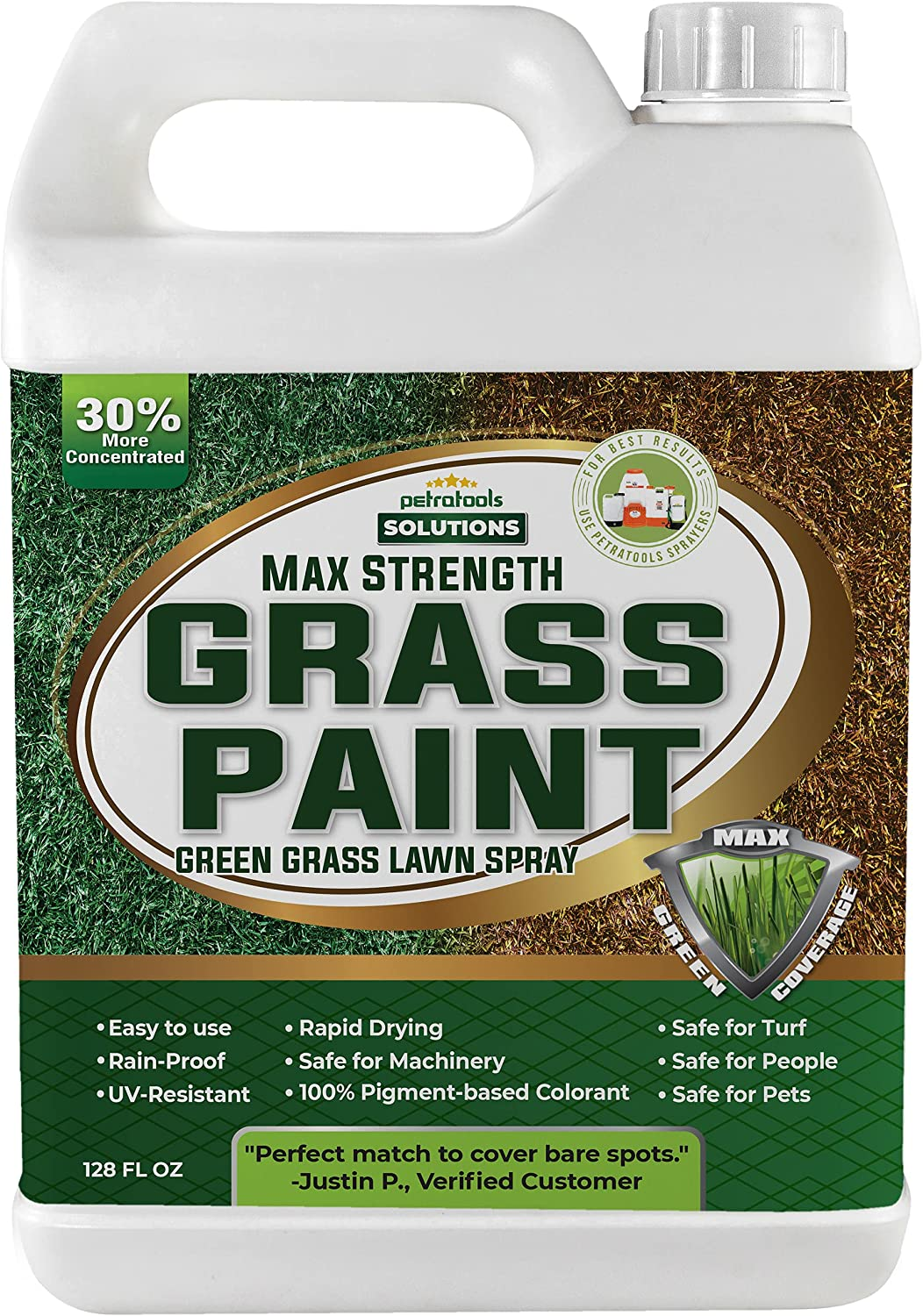 PetraTools Grass Max 42% Fixed price for sale OFF Paint Strength Spray For Lawn Green