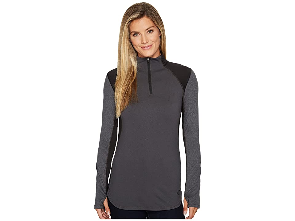 The North Face Motivation 1/4 Zip (TNF Black) Women