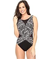Miraclesuit - Between the Pleats Palma One-Piece (DD-Cup)