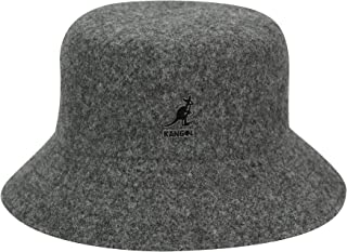 Kangol Lahinch Fischerhut mit Streifen Moosgr/ün