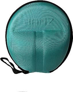 BANZ Baby Earmuffs CASE - Protective Premium Hard EVA Case - Holds Baby Size Earmuffs and Bluetooth Baby Headphones – Protect Children Hearing Earmuffs – Travel Case (Aqua)