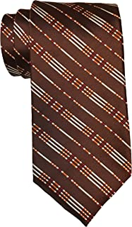 G.U.C.C.I. Brown Striped Tie