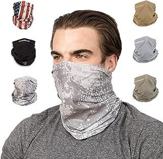 Terra Kuda Face Clothing Neck Gaiter Mask – Non Slip Light Breathable for Sun Wind Dust Bandana Balaclava