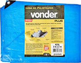 Lona Reforçada De Polietileno Vonder Azul 3 M X 2 M