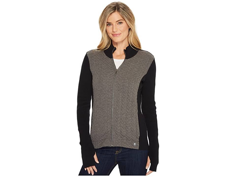 Royal Robbins Cable Mountain Hybrid Full Zip (Charcoal) Women