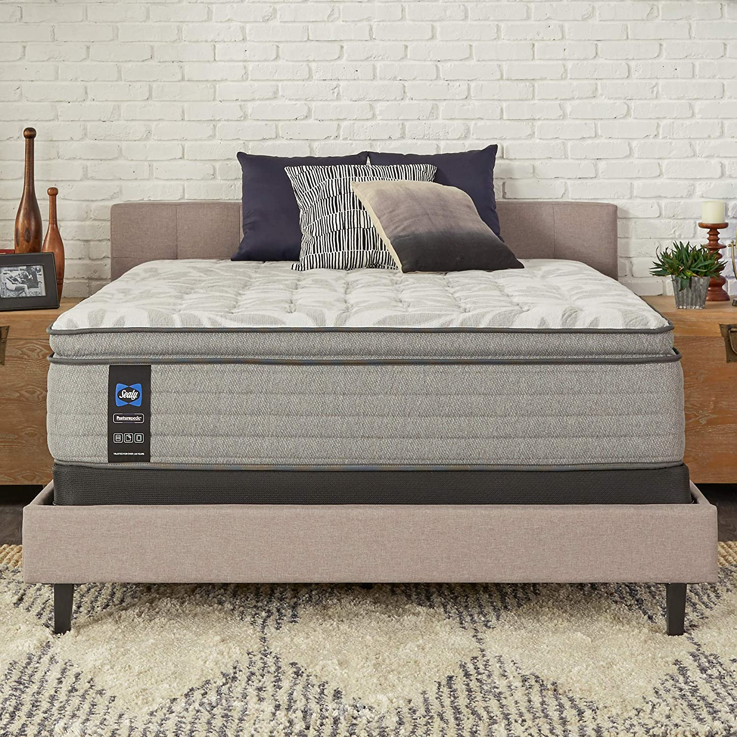 Sealy Posturepedic Spring Ranking TOP17 Red Maple Super special price Euro Feel Soft Pillowtop Mat