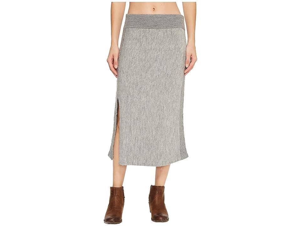 Toad&Co Kilda Sweater Skirt (Heather Grey) Women