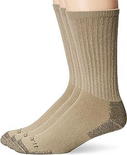 Carhartt Men's 3-Pack Standard All-Season Cotton Crew Work Socks
