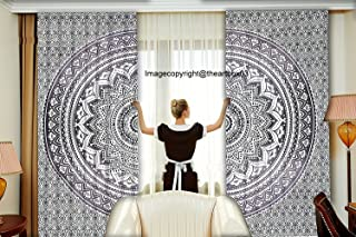 655d46c02 THE ART BOX Tapestry Hippie Star Wall Tapestry Sun and Moon Tapestries Wall  Hanging Twin Size