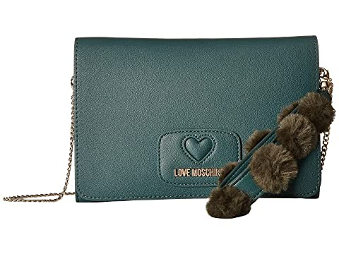 LOVE Moschino Pom Pom Crossbody Bag