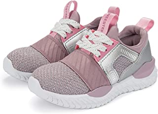 Weestep Toddler Little Kid Girls Elastic Band Sport Sneaker