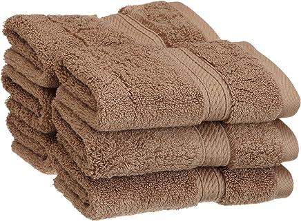 Superior 900g埃及棉6件面巾套件 拿铁棕