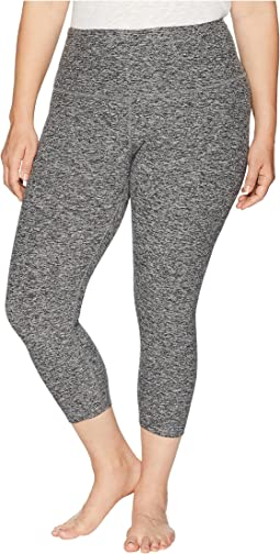 Plus Size High-Waist Capris