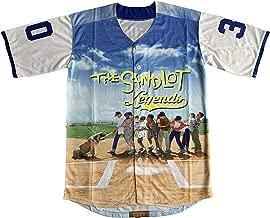 Benny 'The Jet' Rodriguez 30 The Sandlot Legends #23 Bel Air Short Sleeve 3D Print Fashion Baseball Jersey