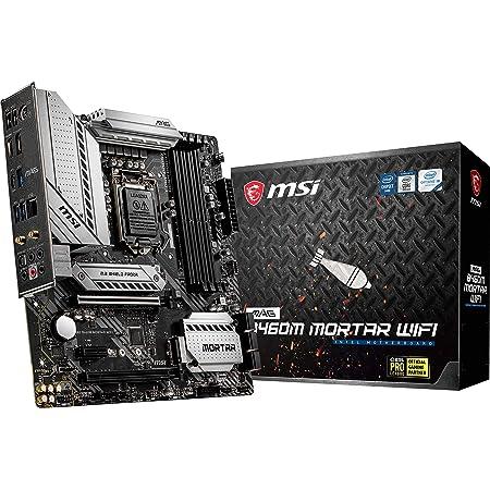 MSI MAG B460M MORTAR WIFI マザーボード MicroATX [Intel B460チップセット搭載] MB5009