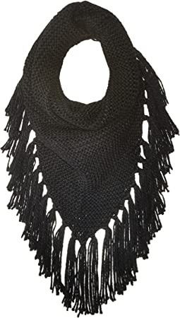 Steve Madden Triangle Snood w/ Fringe