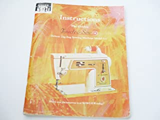 Instruction Manual For The Golden Touch & Sew - Deluxe Zig-zag Sewing Machine Model 620