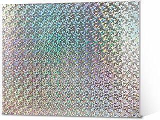 "ELMERS Holographic Foam Board, 20 X 30"", 3/16"" Thick, Silver Metallic, Single Board (950897)"