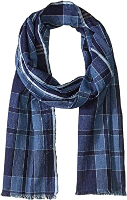 Medium Indigo Plaid