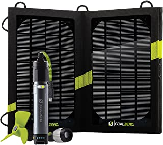 Goal Zero Switch 10 Recharger with Nomad 7 Solar Panel and Multi-Tool Kit