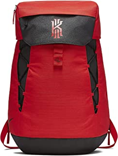 Kyrie BA5788-657 University Red/Black/Black Backpack 37L Basketball Daypack