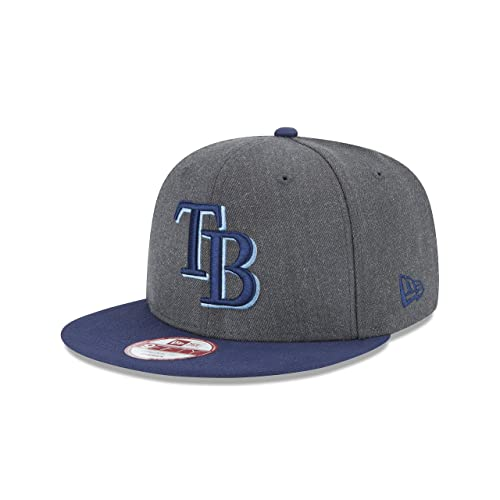 outlet store 5f7fb 7a09b New Era MLB Heather Graphite 9FIFTY Snapback Cap