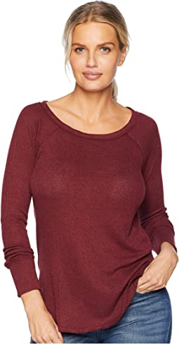 Rib Mix Thermal Shirt
