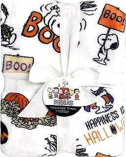 Snoopy Happy Halloween Decorative Throw