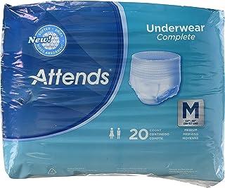 Attends Super Plus Underwear, Medium, Heavy Absorbency, APP0720 - Pack of 20