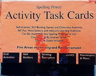 Best spelling power task cards Reviews