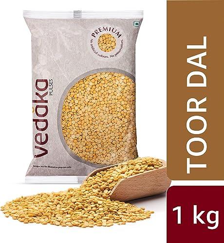 Amazon Brand Vedaka Premium Toor Dal 1Kg