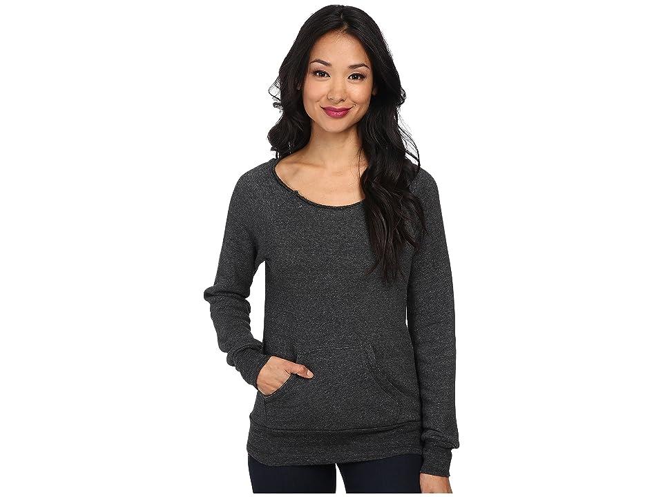 Alternative The Maniac Eco-Fleece Sweatshirt (Black) Women
